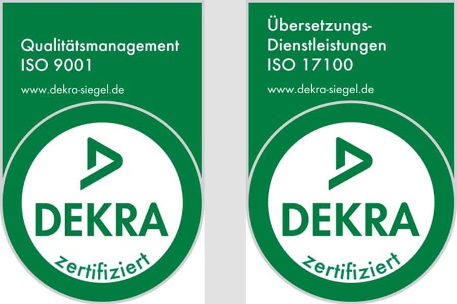 Kocarek GmbH · Fachübersetzungen aus Essen · zertifiziert