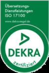 Kocarek GmbH · Fachübersetzungen aus Essen · zertifiziert nach ISO 17100