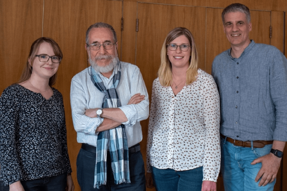 Kerstin, José Giribás, Sarah, Werner