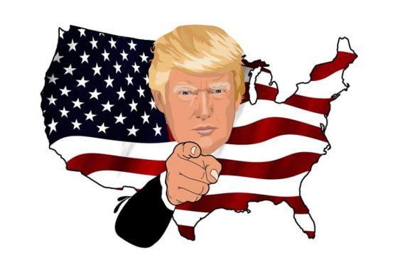 Der Trump-Trumpf - einfache Sprache, verbissene Mimik