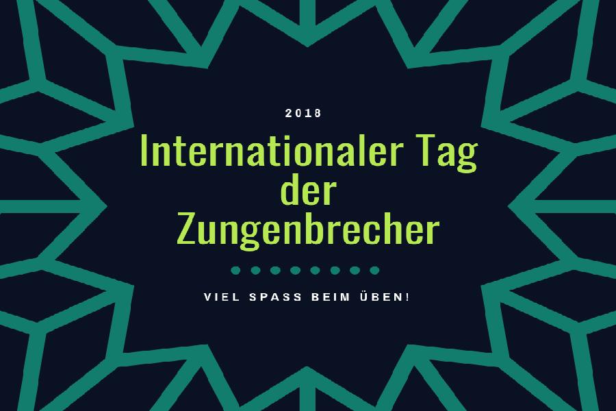 Kocarek GmbH Fachübersetzungen, Internationaler Tag der Zungenbrecher 2018