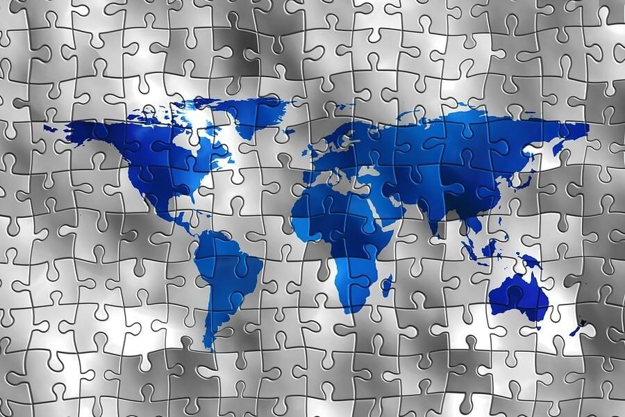 Kocarek GmbH | Fachübersetzungen Essen | puzzle map