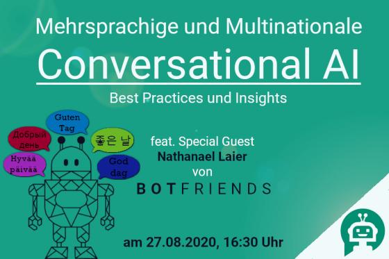 Kocarek GmbH | Fachübersetzungen Essen | Meetup_27.08.20 | Mehrsprachige Chatbots